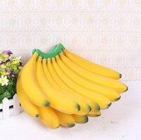Artificial banana props fruit model decoration fake fruit 15 plastic fruit Min.Order $10