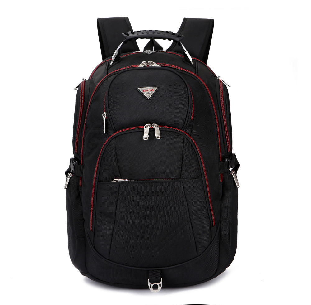 BRINCH Ultra-large Capacity  For 17.3 Inch 18.4 Inch Backpack Compute Bag  Waterproof Anti Theft Laptop Bag Free Shipping
