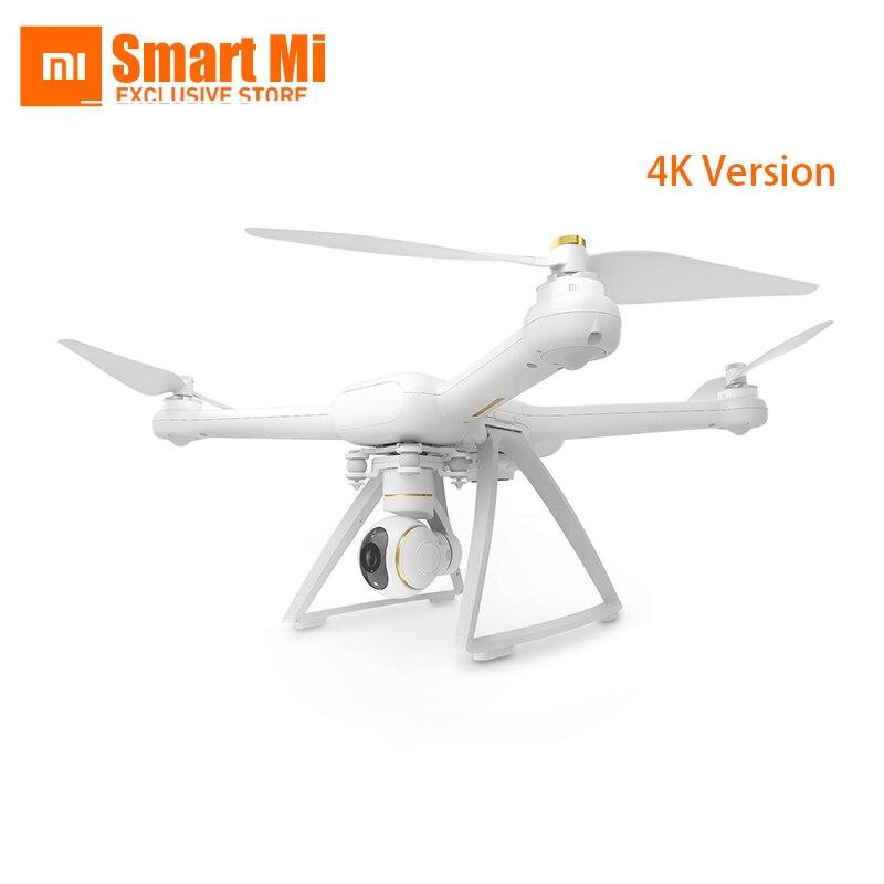 imágenes para Xiaomi mi drone wifi fpv con 4 k 30fps cámara cardán de $ number ejes rc quadcopter rtf