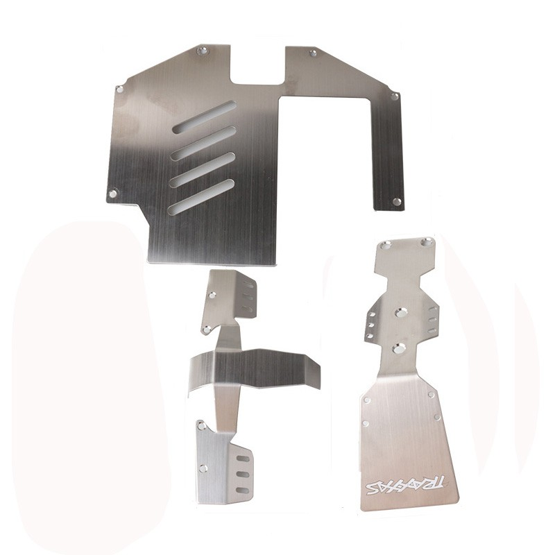 Metal Motor Cooling Bracket Base for 1/7 TRAXXAS UDR RC Car