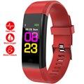 Женские умные наручные часы с монитором сердечного ритма, женские модные резиновые цифровые спортивные часы с будильником, feminino bayan kol saati