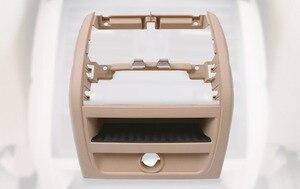 Image 2 - LHD RHD الخلفي التيار المتناوب مكيف الهواء تنفيس مصبغة الإطار الخارجي لوحة الداخلية ABS لوحة لسيارات BMW 5 سلسلة F10 F18 520 525 الأسود الراقية