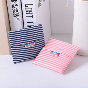 Image 3 - Foldable Polyester Shopping Bag Supermarket Print Eco friendly Reusable Portable Shoulder Handbag Travel Grocery Storage Bag