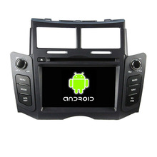 ROM 16G Quad Core Android 5.1.1 Fit Toyota Yaris 2005 – 2009 2010 2011 6.2″ Car DVD Player Navigation GPS Radio WIFI Bluetooth