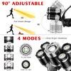 Super Powerful Led Headlight 5 Led Headlamp XML T6 Head Lamp 18650 Battery Flashlight Head Light For Hiking Camping discount