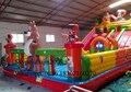 2016 Mejor calidad comercial PVC tobogán inflable para niños y adultos/tobogán inflable al aire libre