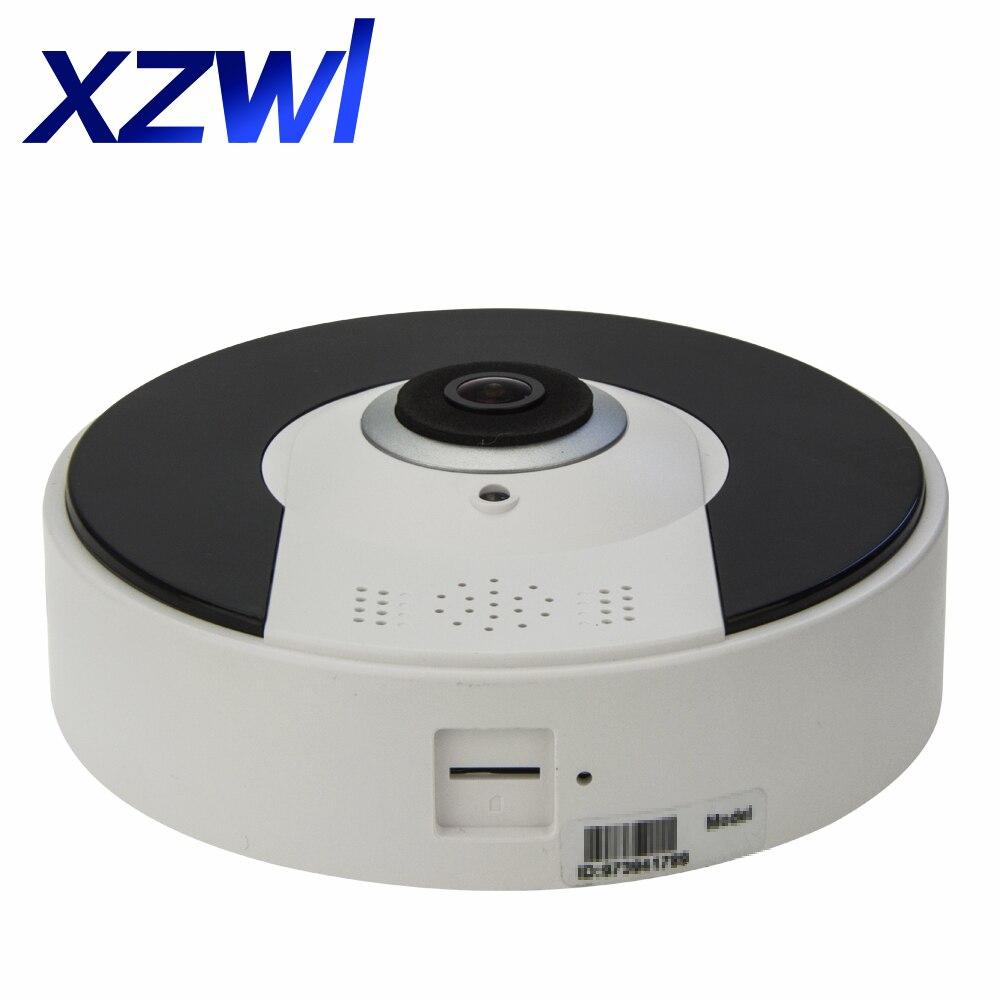HD 960P Wireless WIFI IP Camera 360 Degree VR Panorama Camera CCTV Home Security Video Surveillance System Camera Two way Audio