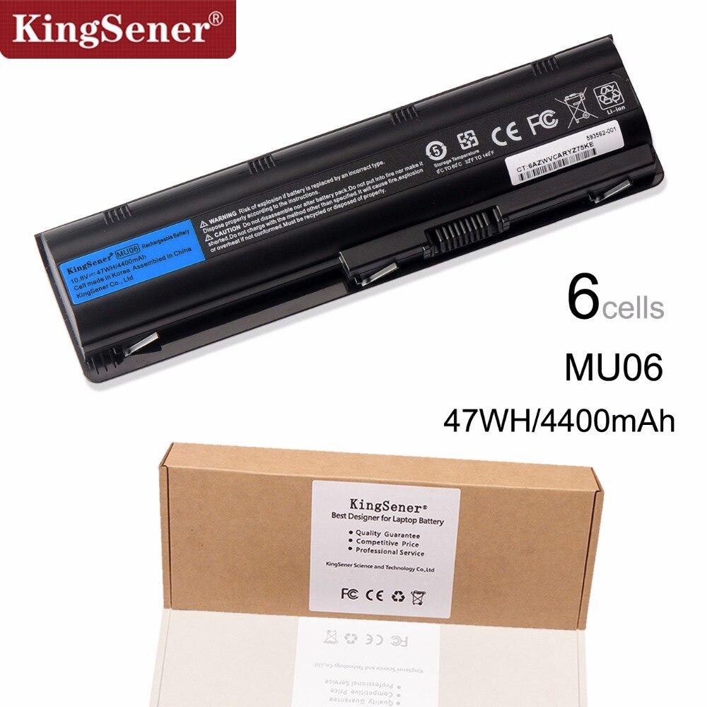 KingSener Corée Cellulaire MU06 Batterie D'ordinateur Portable pour HP Pavilion G4 G6 G7 CQ42 CQ32 G42 CQ43 G32 DV6 DM4 G72 593562-001 10.8 v 47WH