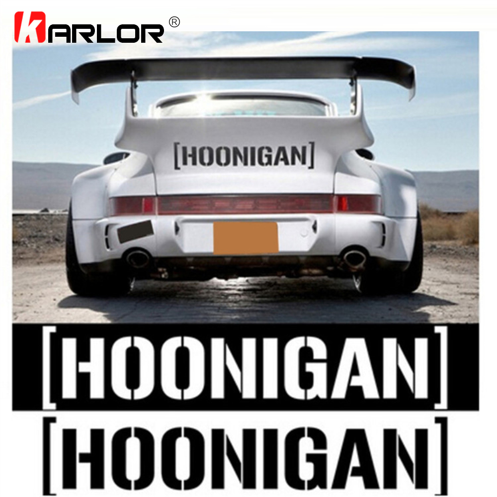 58*10cm HOONIGAN Drift Creative Car Stickers Decals Reflective Auto Products Automobiles Car Motorcycle Decoration Accessories