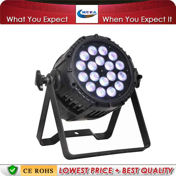 Waterproof 18*10W LED Par Light DJ LED Par Light Disco Par Light