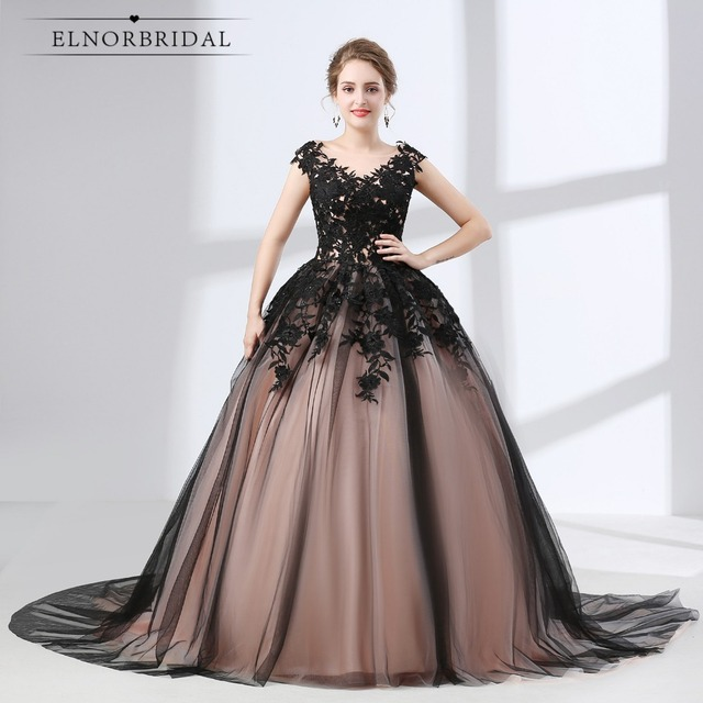 Elnorbridal Vintage Ball Gown Evening Dresses Plus Size 2018 ...
