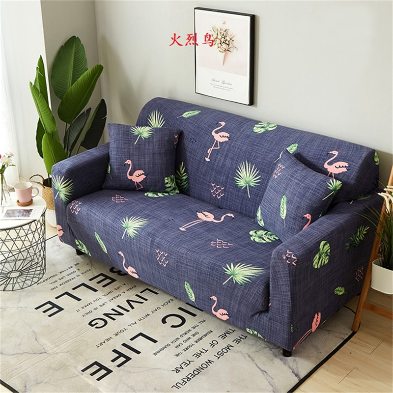 24 Colors Slipcover Stretch Four Season Sofa Covers Furniture Protector Polyester Loveseat Couch Cover Sofa Towel 1/2/3/4-Seater