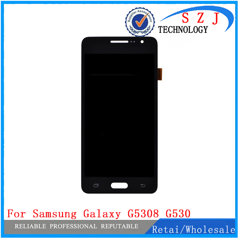 New LCD Display+Touch Screen Panel Assembly For Samsung Galaxy Grand Prime G5308 G530 SAM1084 Free Shipping stylish blue horse pattern pc and pu cover case for samsung galaxy note 3 n9000