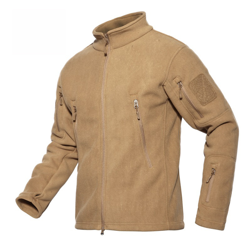 4XL Men s Hunting Tactical Military Coats Outdoor Sports Hoodie Sweater Clothes Fleece Warm Women Camping
