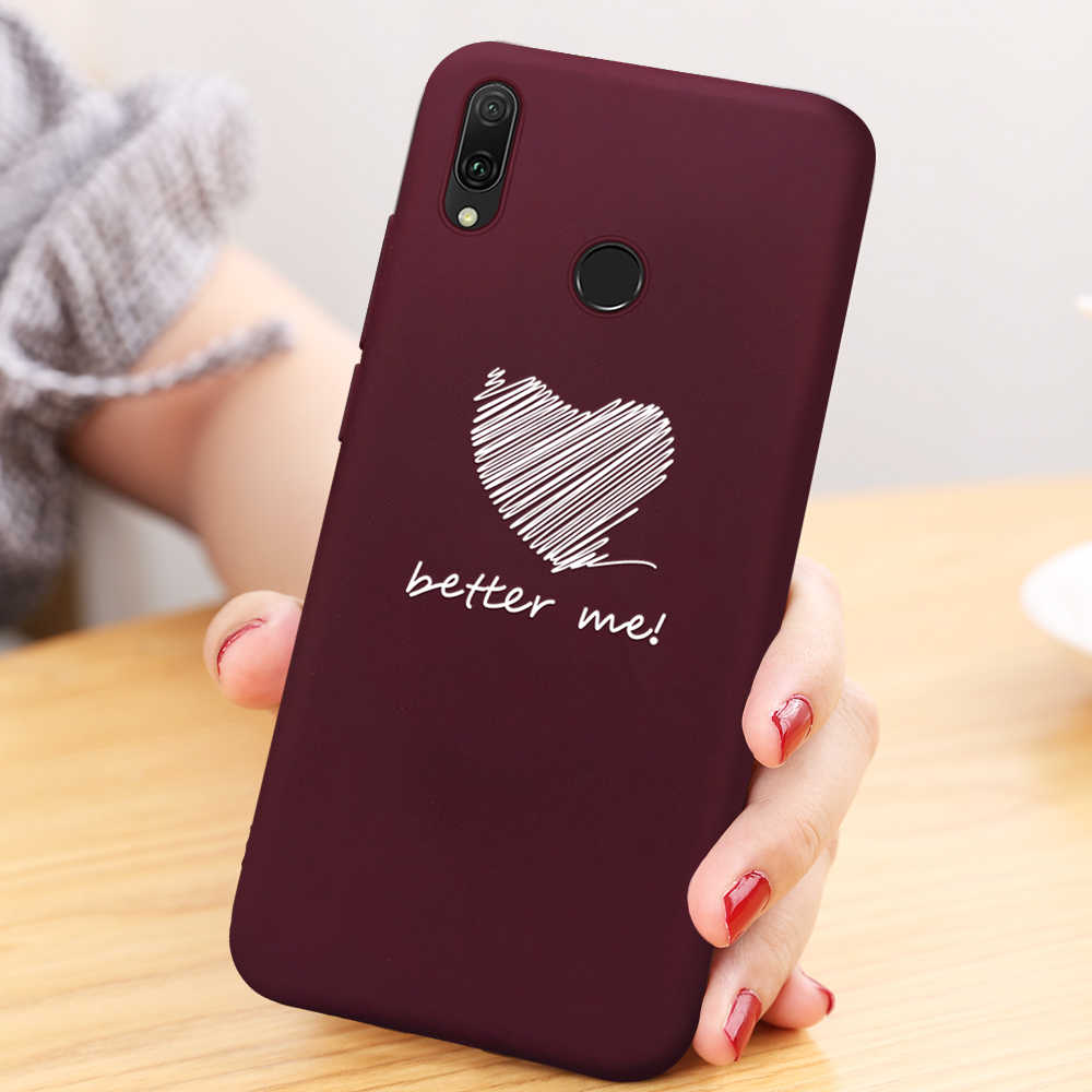 Lovely Pattern Soft TPU Case For Huawei  P20 Pro P30 Lite P20 Lite 2019 Cute Cartoon Printed Cover For Huawei P10 Lite P30 P20