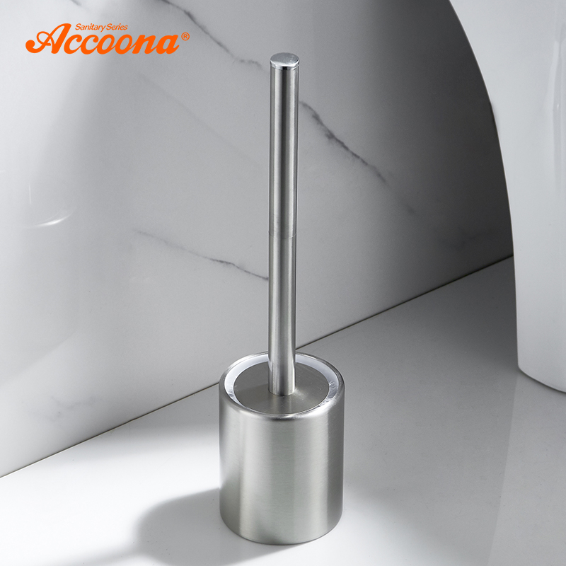 Accoona Toilet Brush Holder Bathroom Cleaning Tool Holder With Toilet Brush Bath Hardware Stainless Steel Tools A260