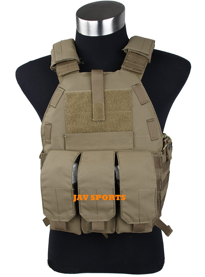 TMC Vest 94K M4 Pouch Plate Carrier Tactical Military Vest Matte Coyote Brown+Free shipping(SKU12050549) tmc vest 94k m4 pouch plate carrier tactical military vest matte coyote brown free shipping sku12050549