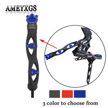 1pc Compound Bow Stabilizer CP624 Bow Riser Shock Absorber For Outdoor Sports Damper Shooting Archery Accessories 1pc archery bow stabilizer shock absorbing weight ball damping bow riser handle balance bar silencer outdoor shooting accessory