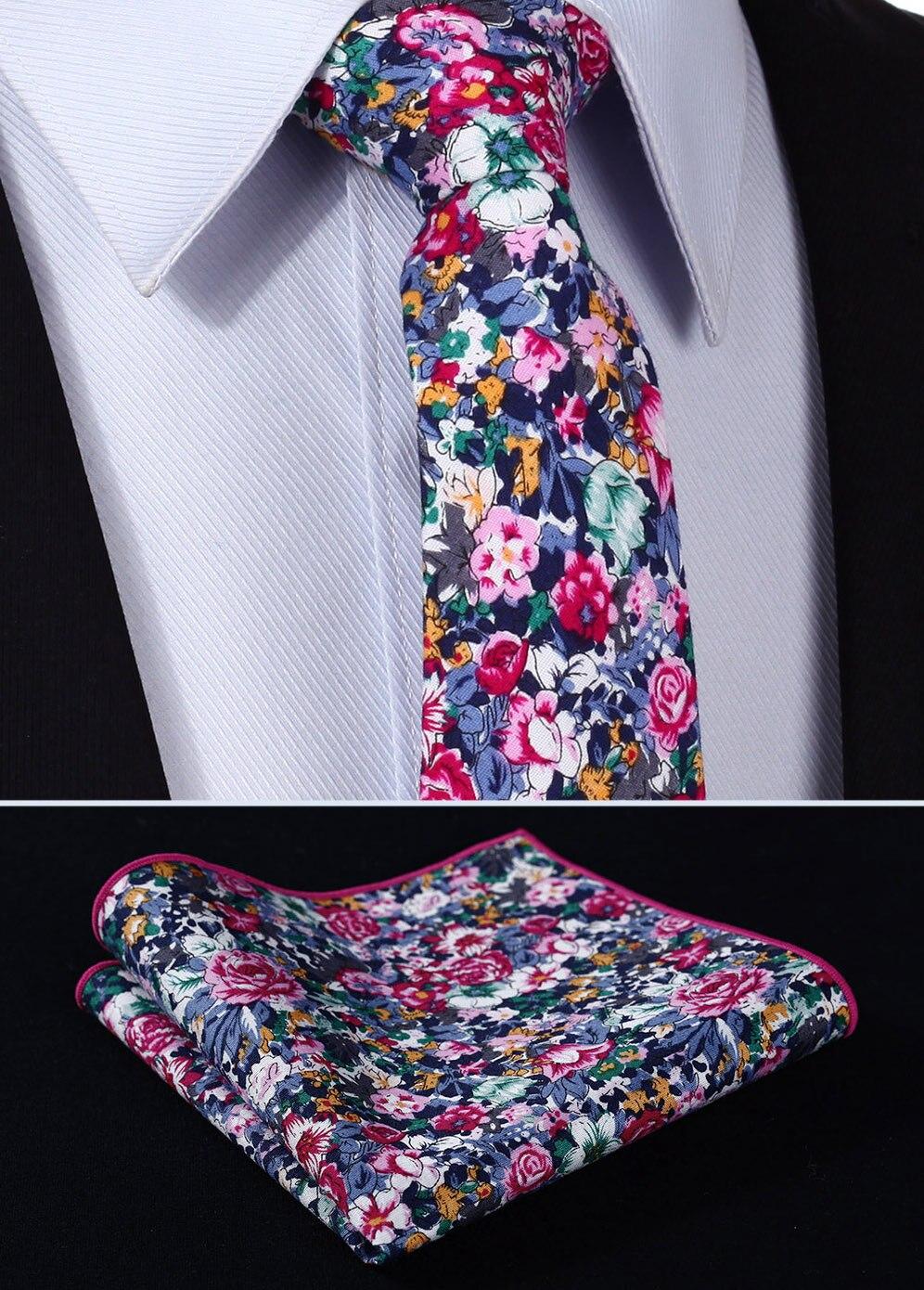 c31518ed ⑧Tmf201k7 różowy niebieski kwiatowy 2.75 100% bawełna tkana slim ...