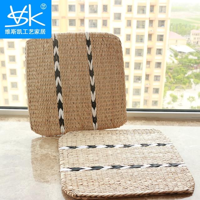 Carpet Straw Tatami Floor Car Seat Cushion Futon Yoga Buddha Mat Khan Steamed Windows And Pad