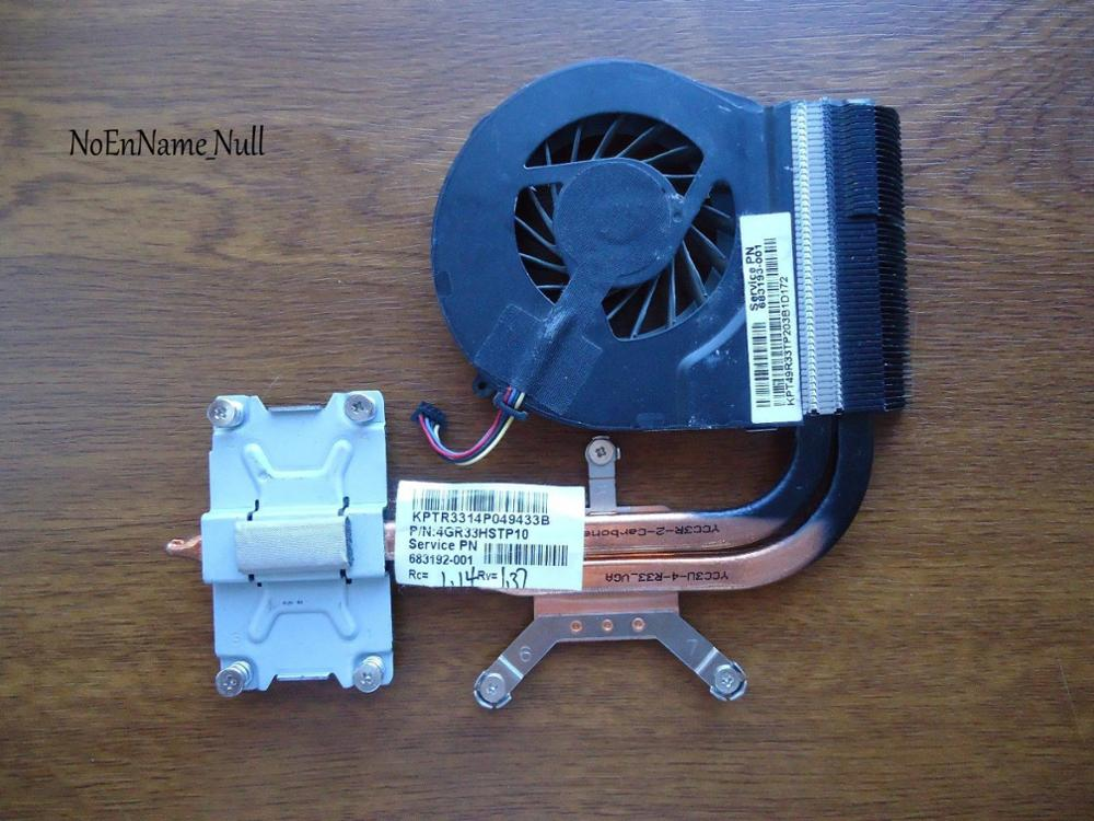 New Cooler For HP Pavilion G4 G6 G7 G4-2000 G6-2000 Cooling Heatsink With Fan 683192-001 685479-001 683028-001 683193 680550-001