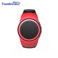 B20 Montre Smart Watch Auto-minuterie Anti-Perte D'alarme Musique Sport Mini Haut-Parleur Bluetooth Support TF Carte FM Radio AUX Mains Libres pour MP3