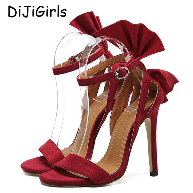 f55293eb2b80a women shoes sandals Sexy Pumps gladiator sandals wedding shoes Strappy red  Sandals peep Toe Summer Sandals Dress shoes X471
