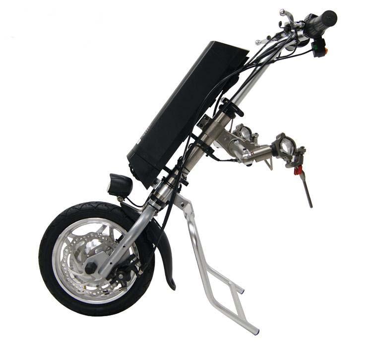 Бесплатная доставка 36 В 250 Вт Электрический Handcycle складывая кресло-коляска силы привязанности цикл велосипед DIY колеса стул наборы преобразования