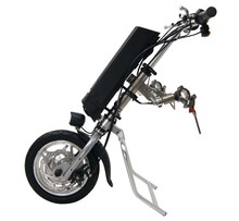 Freies Verschiffen 36 V 250 Watt Elektrische Handcycle Faltrollstuhl Befestigung Hand Zyklus Fahrrad DIY Rad Stuhl Umbausätze