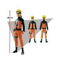 27cm BIG Original Anime NARUTO PVC Uzumaki Naruto Model Toy Dolls Gifts