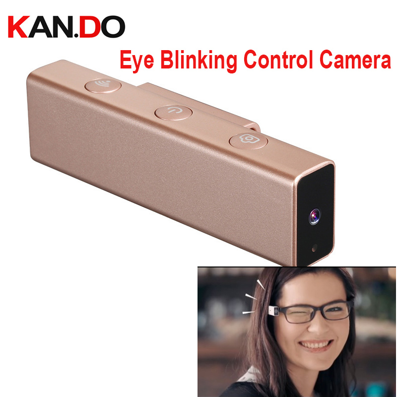 16GB eye blinks control take photo wink camera 1080P 8.0MP wifi connection mini camcorder twinkle camera sport actions camera