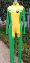 X-men Rogue Cosplay Costume Adult Women Halloween Clothing Version 01 Custom Made