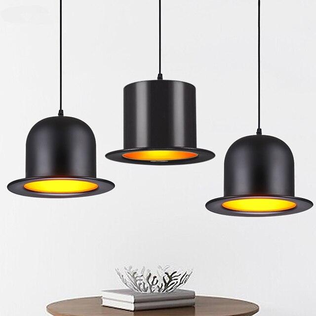 Tienda online jazz moderno colgante lámpara de luz sombrero de ...