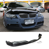 Express Shipping 3D Style Car Styling PU Material Front Lip Bumper Spoiler For BMW E90 2005 2008 M Tech M Sport Package