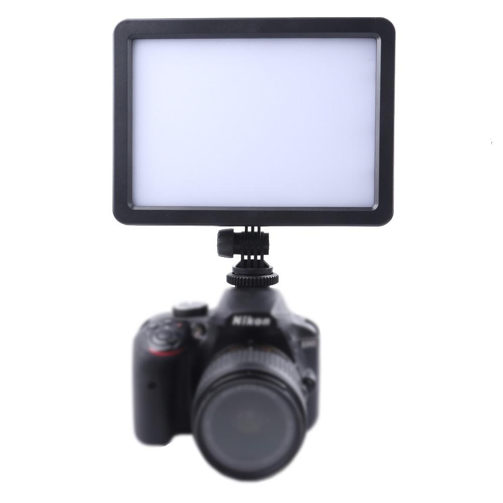Painel de Guia de Luz de Vídeo para Canon Lightdow Slim Nikon Sony Pentax Panasonic Samsung Olympus Digital Slr Filmadoras Pc-k128c Led
