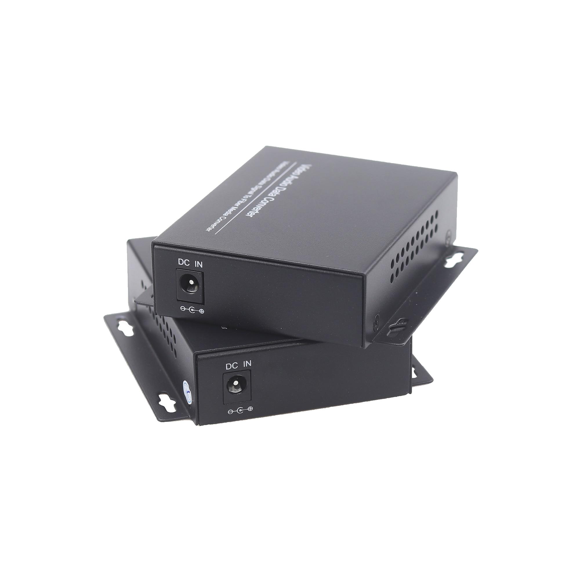 GZGMET 20Km 1 Kanal Video Extender Singlemode LWL Medienkonverter - Schutz und Sicherheit - Foto 4