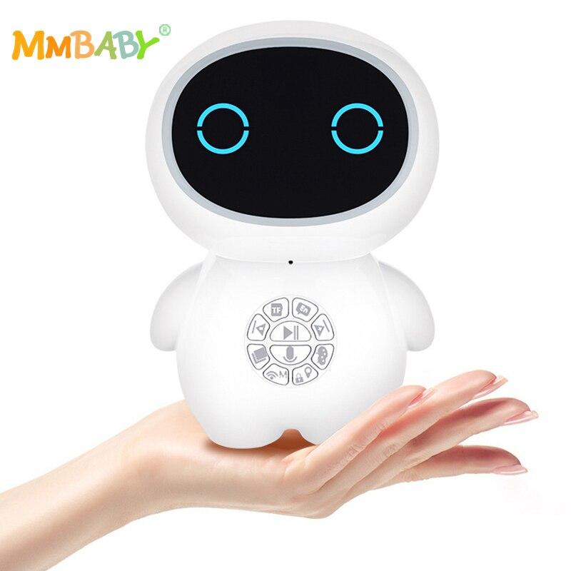 MMBABY compagnon Intelligent jouets éducatifs Dialogue vocal histoire d'apprentissage Machine anglaise enfants Robot Intelligent 2019