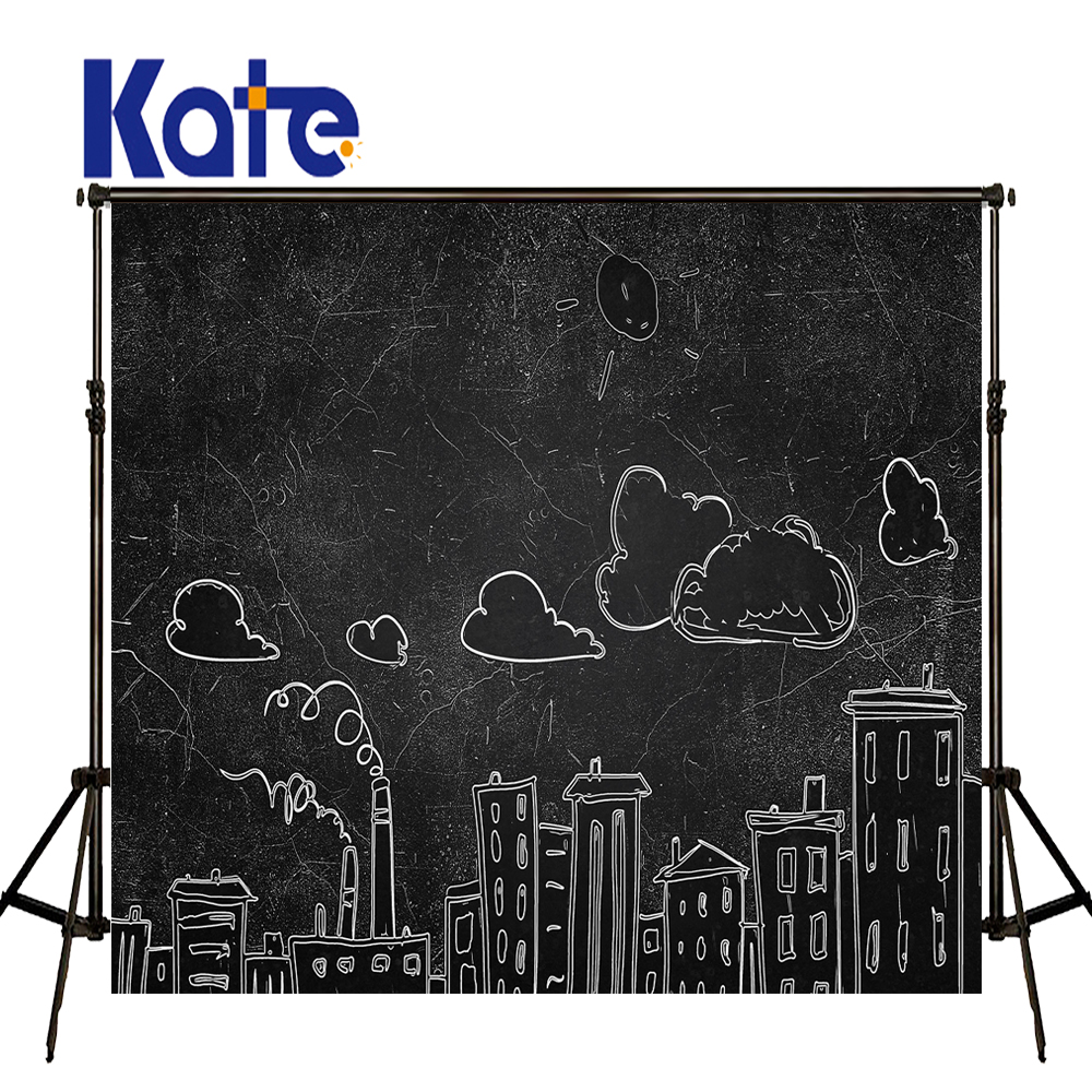 KATE Photography Background Cartoon Backgrounds Black Brief Strokes Backdrop Children Daily Backdrops for Newborn Photo Studio kate dry land photography backdrops land photography background retro children custom backdrop props for newborn photo shoot