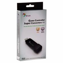 USB адаптер Brook для Xbox 360 для Xbox One, игровой конвертер, черный адаптер контроллера