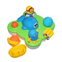 Baby Fountain Bath Toy For Children Kids Electric Floating Spraying Water Cartoon Toys Safe ABS Material Gift Funny Toy