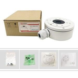 Image 3 - Em estoque hikvision cctv bracket DS 1280ZJ XS liga de alumínio juction caixa para câmera bala DS 2CD1021 I DS 2CD1041 I