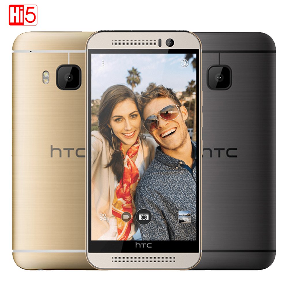 HTC ONE M9 mobile phone 5.0 Octa-Core 20MP camera Android GPS WIFI NFC 3G RAM 32G ROM 1920*1080P Unlocked image