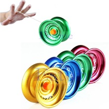 New Hot Aluminum Design Professional YoYo Ball Bearing String Trick Alloy Kids