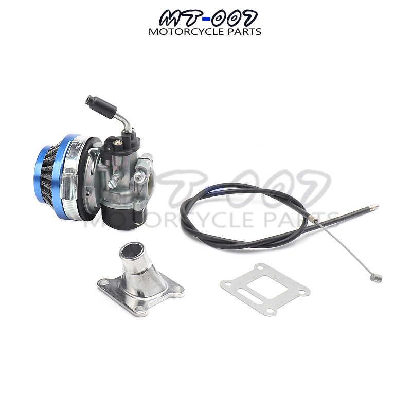 19mm Carburetor Air Filter Intake Assembly 47cc 49cc Mini Dirt Pocket Bikes ATV