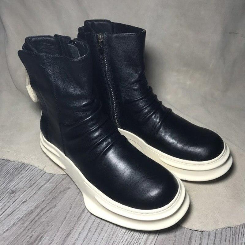 Nouveau mode rouge fonds or haut et métal orteil hommes velours chaussures décontractées hommes mocassins à la main grande taille hommes appartements livraison gratuite - 3