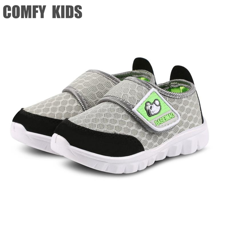 COMFY KIDS super discount Baby Girl kids Breathable Sneakers Shoe/Boys Girls Mesh Not Smelly Feet children Kids Hardanger