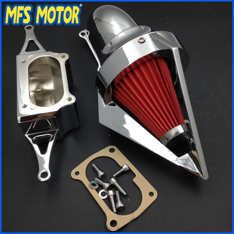 Filtre à Air de cône de moto pour Yamaha 2002-2010 Roadstars accessoires de moto Chrome minuit guerrier