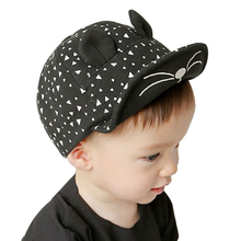 Baby Baseball Caps for Boys Girls Infant Kids Cotton Summer Sun Cap with Ears