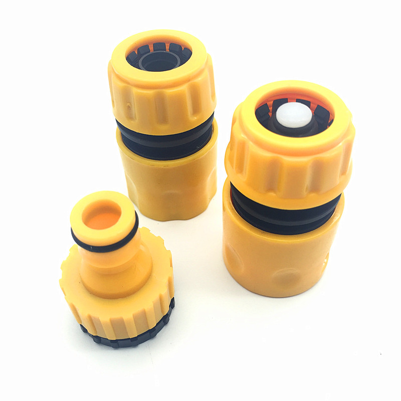 3 Pcs Garden Water Pipe Sealing(Stop Water) Connectors Hose Fittings Irrigation System For Water Gun Connector 1/2