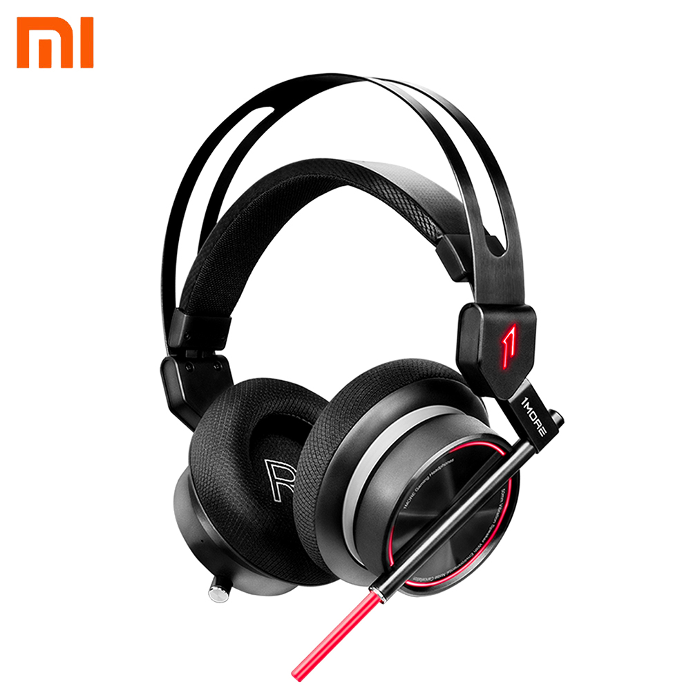 Original Xiaomi 1MORE Spearhead VR Stereo Headphones Gaming Headset E-Sports Headphones 7.1 Surround Sound Game Earphone стоимость